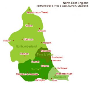 We cover North East Locksmith Locations