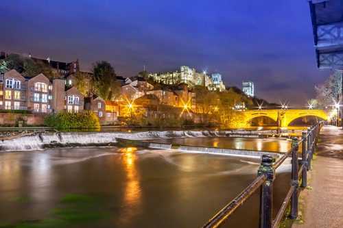 Night At The River Wear - Places to Visit in Durham